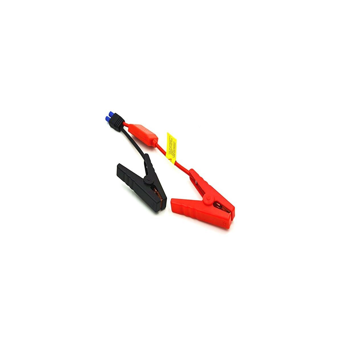 41dhl9xqjKL. SS1200  - Pinzas para batería de coche SM600 de Xincol, pinzas tipo cocodrilo, conector EC5 de emergencia