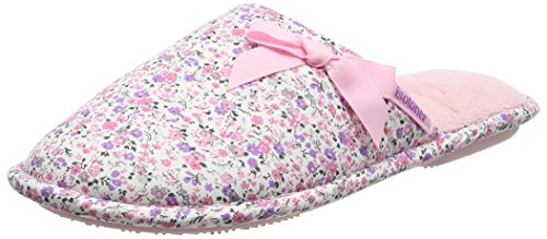 isotoner-women-floral-mule-open-back-slippers-pink-pink-7-uk-40-eu