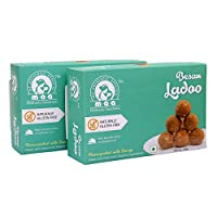 Maa (My Authentic Appetite) Besan Ladoo (200 GM) (Pack of 2)