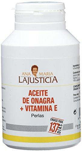 Ana Maria LaJusticia Aceite Onagra + Vitamina