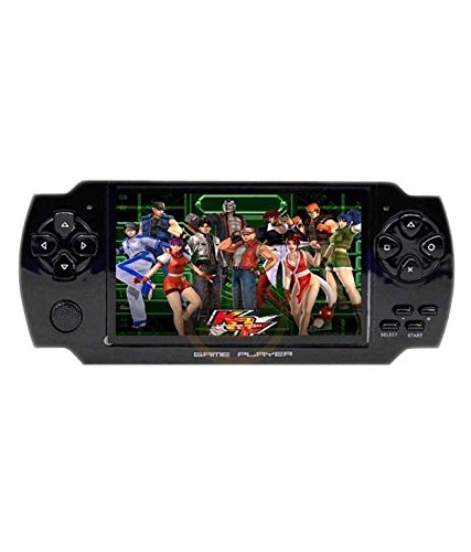 Verawood Handheld TV Game Player Console 4.3 Tft Screen ( Free 4 GB Memory Card )