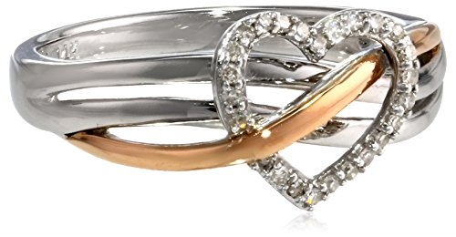 xpy-sterling-silver-and-14k-pink-gold-heart-diamond-ring-size-7