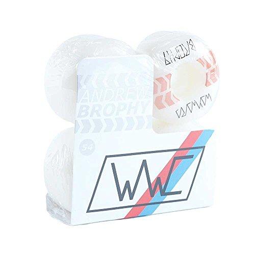 Wayward Wheels Series 3Andrew Brophy Pro skateboard Wheels bianco 101a 54mm