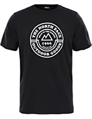 North Face M Tansa T92S Camiseta de Manga Corta, Hombre, Negro (TNF Black), M
