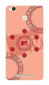 MTV Gone Case Mobile Cover for Xiaomi Redmi 3 Pro