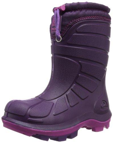 Viking EXTREME Unisex Kinder Warm gefütterte Schneestiefel Pink (Purple/Fuchsia 1617)