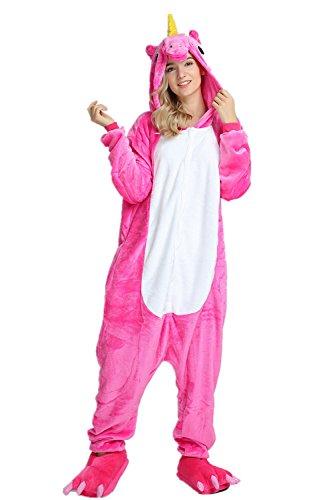KiKa-Monkey-Unisex-Unicornio-Adulto-Ropa-de-Hombre-Animal-Pijamas-Traje-de-Cosplay-Pijamas-de-Navidad