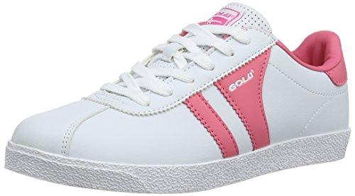 Gola - Amhurst, Scarpe outdoor multisport per bambine e ragazze bianco (White/Pink)