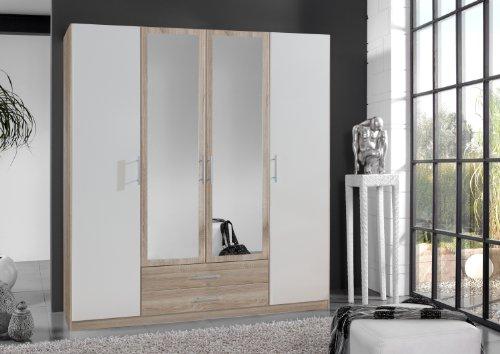 Wimex Kleiderschrank 017453 Imago, Eiche sägerau, Breite: 180 cm