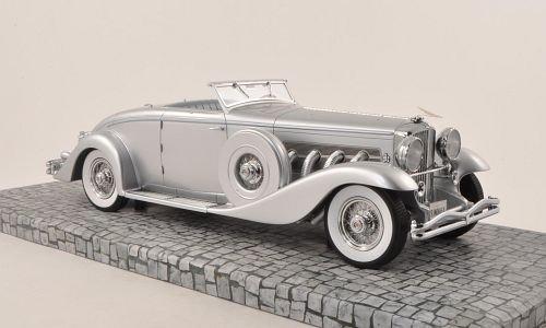 duesenberg-sjn-convertible-coupe-plateado-1936-modelo-de-auto-modello-completo-minichamps-118