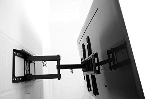 HOCHWERTIGE TV Wandhalterung QLED/OLED/LED/LCD, 42-65 Zoll ✓ EXTREM Stabil ✓ Mit Fischer Zubehör ✓ Drehbar | Universal Wand-Halterung für Fernseher | Fernsehhalterung, VESA | Wandhalterung, Für Samsung, LG, Philips, Sony, Panasonic, Medion, Hisense