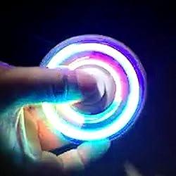 FIDGETARIAN Fidget Spinner Black LED