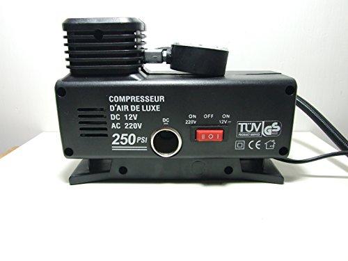 Minicompresor para lancha neumática, salvavidas hinchables, automóvil, con toma de 220V y...