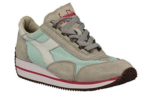 20115603001c6162 Stoff Grau Heritage Sneakers Diadora Damen qzFqYrC