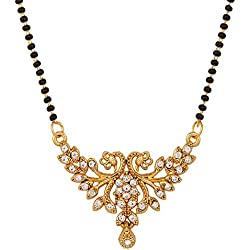 Diagold Peacock Austrian Diamond Mangalsutra For Women