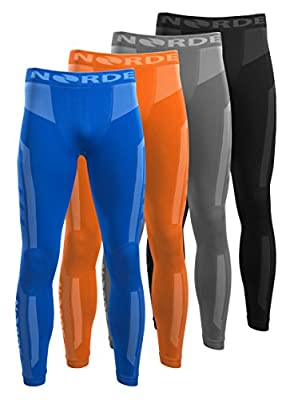 Men's NORDE Functional Thermal Underwear Breathable Active Base Layer Long Pants