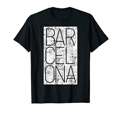 Barcelona Souvenir auf Besuch in Katalonien Spanien Geschenk T-Shirt
