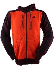 adidas Herren Trainingsjacke Hoodie Essentials 3S Fleece