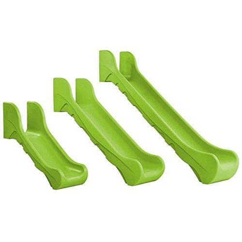 Klingl Spielgeräte Rotationsverfahrene HDPE- Anbaurutsche Bronco - Podesthöhen 60cm, 100cm, 150cm Versch. Farben - Din EN 1176 öffentlich, Farbe:Blau, Podesthöhe:60