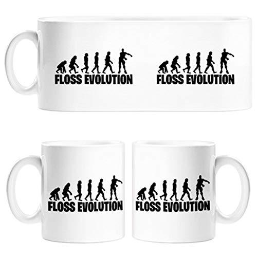 Taza Floss Evolution - Cerámica