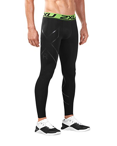 2XU Refresh Recovery Comp Collants Homme, Black/Nero, 2 XL