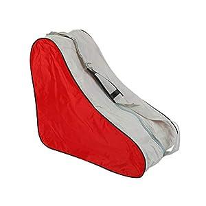 VORCOOL Schlittschuhtasche Rollschuhtasche Tasche für Schlittschuhe Rollschuhe Skateschuhe (Rot)