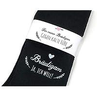 """Hochzeit Geschenk Socken""""Gegen kalte Füße"""" für den Bräutigam"""