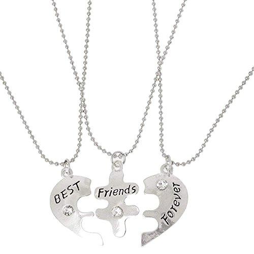 Bestes Mädchen Kostüm - 3 X Freunde Best Friends Forever