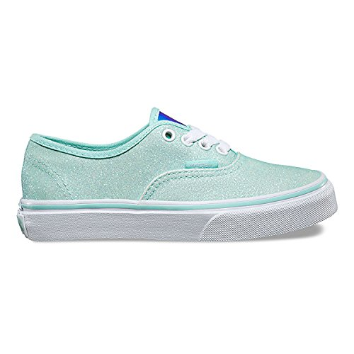 Vans  Uy Authentic, Sneakers Basses fille (Glitter & Iridescent) Blue/True White