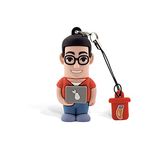 Professional usb informatico uomo, simpatiche chiavette usb flash drive 2.0 memory stick archiviazione dati, portachiavi, pendrive 8 gb