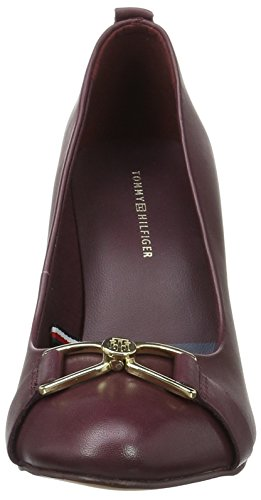 Tommy Hilfiger A1285very 25a, Escarpins Femme Marron (Decadent Chocolate 296)