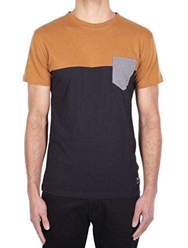 IRIEDAILY Block Pocket 2 Tee [cara black] -