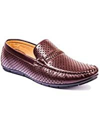 Khadims Mens Faux Leather Loafers