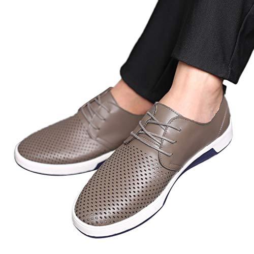 Cebbay Chaussures de Costume d'affaires Homme Bout Rond...