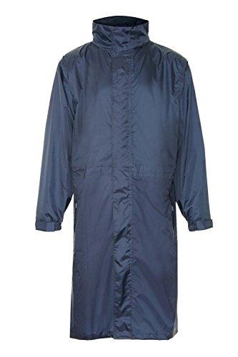 i-smalls Ltd -  Cappotto  - Con cappuccio  - Maniche lunghe  - Donna blu navy