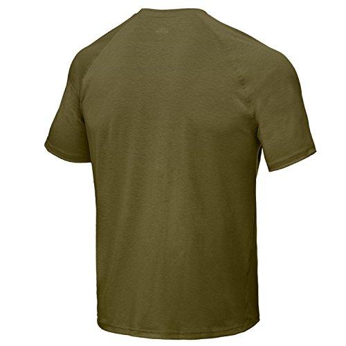 Under Armour Tactical T-Shirt Tech Tee Loose Heat Gear schwarz/transparent