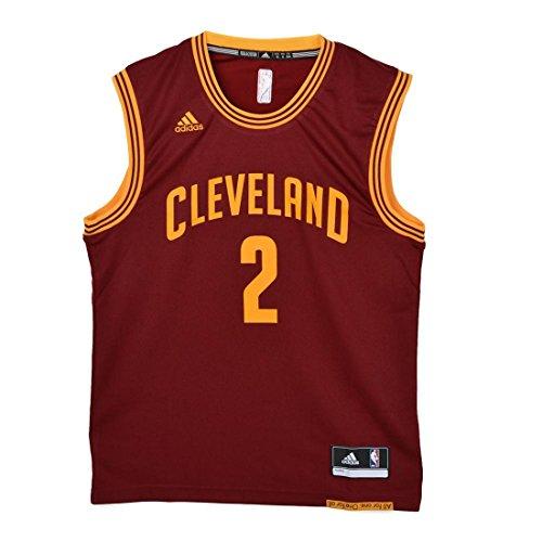 adidas Herren Basketballtrikot NBA Cleveland Cavaliers 2, Rot, 2XL, A21100