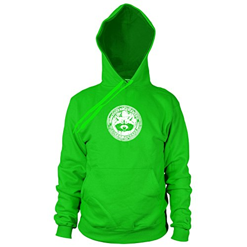 Gamora Kostüm Comic - Rocket Powered - Herren Hooded Sweater, Größe: XXL, Farbe: grün