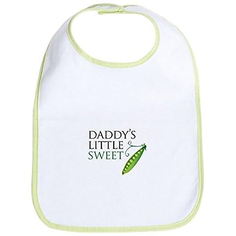 CafePress - Daddy's Little Sweet Pea - Cute Cloth Baby Bib, Toddler Bib