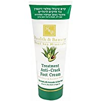 Belleza y salud tratamiento Anti-crack crema para pies con aceite de aguacate y Aloe Vera, 180ml