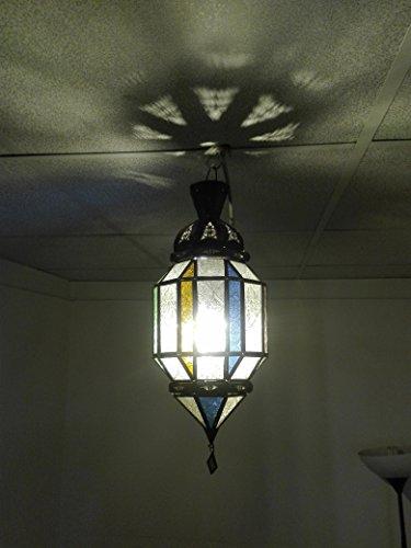 Etnico Arredo Lustre plafonnier marocain Suspension Lanterne Lampe Applique Ethnique Chic Vintage Arabe Afrique Orientale Maroc 0939