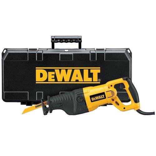 DeWALT DW311K - 1200 Watt Pendelhub Säbelsäge, Tigersäge mit Transportkoffer