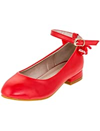 Hello Coccinelli - Zapatos de Vestir de Material Sintético para Niña