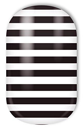 Miss Sophie's Nagelfolien Skinny Stripes: Nail Wraps - 20 ultra-dünne selbstklebende langanhaltende Nagelfolien
