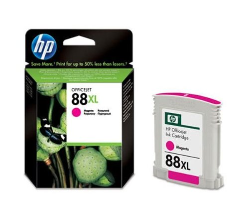 HP 88 x L Magenta Officejet Ink Cartridge Magenta Tintenpatrone - Tintenpatronen (magenta, HP Officejet Pro K550, K550DTN, K550DTWN High (XL) Yield, Magenta, Tintenstrahldrucker, 20 - 80%)