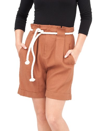 dr-denim-ethel-shorts-scallop-brown-brown-m