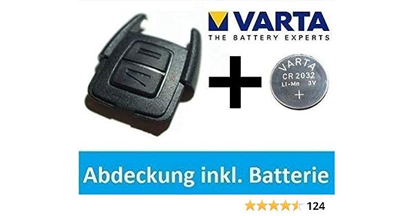 Opel Astra G Zafira A Schlüssel Abdeckung Gehäuse Varta Cr2032 Batterie Set Auto