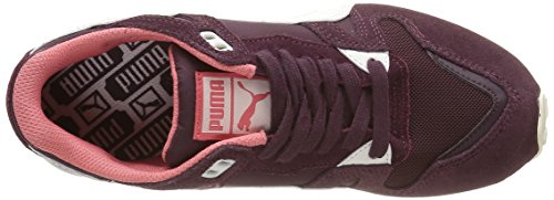 Puma Duplex Classic, Baskets Basses Femme Rouge (Winetasting/Whisper White)