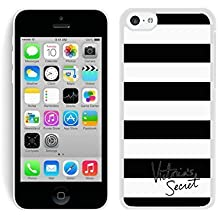 Iphone 5c Case Custom Design Victoria's Secret Love Pink 41 Protective Cell Phone Cover Case for Iphone 5c White
