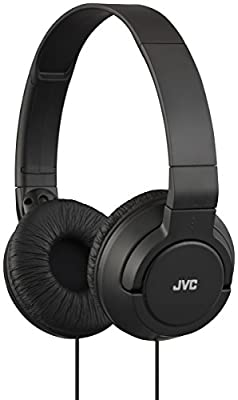 JVC HAS180 Lightweight Powerful Bass Headphones - White